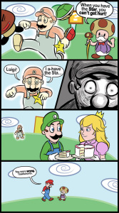 Un buon gioco, fino a quando non si palesa Luigi il bastardo!