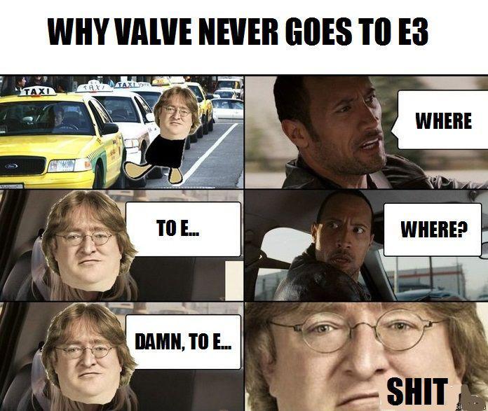 ahahaha fa ridere perchè Valve ha problemi col numero 3, capito?